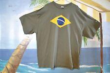Brazilian Pride Flag World Cup Soccer Mens T-Shirt