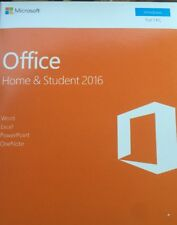 Microsoft Office Home & Student 2016, 1-User License / Product Key Card / Boxed