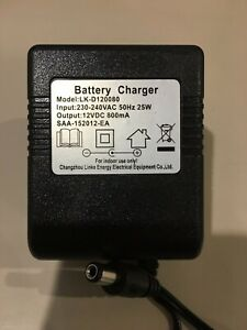 6V 12V Battery Charger Kids Electric Ride On Car Bike Scooter Remote Control