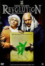 NEW DVD -  WWE - NEW YEARS REVOLUTION - JOHN CENA , UMAGA, JEFF HARDY, RIC FLAIR