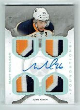 14-15 UD Upper Deck The Cup Foundations  Matt Moulson  /5  Auto  Quad Patches