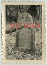 1940 ORIGINAL OLD PHOTO JEW JEWISH GRAVE TOMB CEMETERY IN POLAND