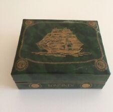 Scatola LONGINES Flagship Vintage Watch Box Green