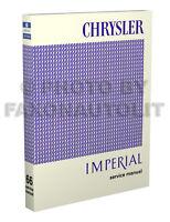 1966 Chrysler Shop Manual 66 New Yorker 300 LeBaron Newport Repair Service Book