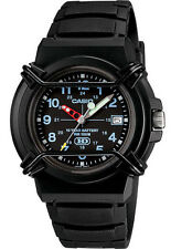 Casio HDA600B-1B Men's HD Series Black Resin Band Black Dial 100M WR Watch