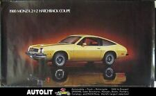 1980 Chevrolet Monza 2+2 Hatchback Showroom Poster 151198-UTIUHS