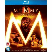 LA MOMIA TRILOGIA THE MUMMY TRILOGY BLU RAY EN CASTELLANO BLURAY