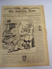 Sporting News Baseball Vol. 122 Num. 16 Stan Musial MVP Feature