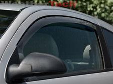 WeatherTech Window Deflectors - Chevrolet Cobalt Coupe - 2005-2010 - Light Tint