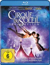 Blu-ray * CIRQUE DU SOLEIL : TRAUMWELTEN # NEU OVP =