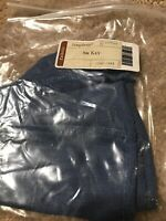 Longaberger Small Key Basket Cornflower Blue Fabric Over Edge Liner Only New
