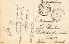 Lang-Son, Indochina to Prague, Czechoslovakia, See Remark (21794)