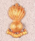Army Badge:  Royal Australian Engineers (bomb) - nhm, gilt