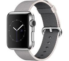 Montres connectées Apple acier inoxydable