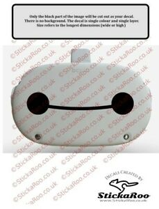 Baymax vinyl sticker for the Oculus Quest 2. FREE P&P