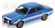 Minichamps 100 688102 FORD ESCORT MK1 RS1600 FAV modello auto Blu 1970 F&F 1:18 TH