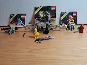 Vintage Lego 6806, 6805, 6880 Space, Excellent 100% comp with instructions