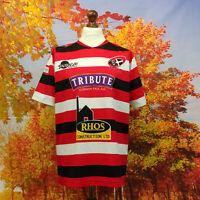 Cornish Pirates Rugby Union Club 2018 home Shirt. UK men's size Medium