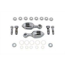 V-Twin Chrome Billet Canister Breather Kit for Harley Sportster Dyna Softail