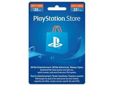 Gift Card $25 PlayStation Store