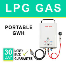 GASLAND Portable Gas Hot Water Heater- Instant LPG Caravan Camping 4WD Outdoor