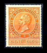 ITALIA - Regno - Ricognizione postale - 1874 - Effigie di Vittorio Emanuele II°