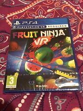 Fruit Ninja PS4 VR Juego PlayStation PSVR *** nuevo Y Sellado **