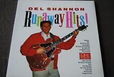 """DEL SHANNON """"Runaway Hits"""" LP VINYL / EDSEL RECORDS - XED121 / 1983"""
