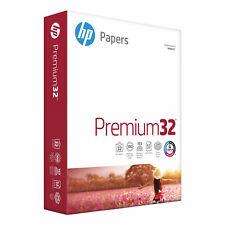 Hp Papers Premium32 85x11 Laser Copy Amp Multipurpose Paper White 500 Ream