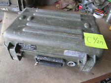 Used Pelican Style Case, Empty, for PVS-7B Night Vision, Missing Water Seal sc