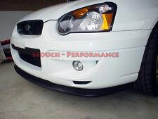 "Subaru Impreza Blobeye ""V-limited STI Style"" Front Bumper Lip PU Spoiler - 03-05"
