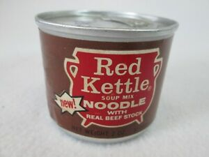 Vintage Campbell's Red Kettle 2 ounce soup mix full can