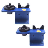 2x CAT40 Tool Tightening Clamping Holder Fixture FOR CAT40 CNC Tool Holder Taper