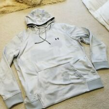 NWT Under Armour COLD GEAR Grey Pullover Hoodie NWT Mens Size XXL