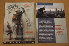 Chappie (2015) Sharlto Copley, Dev Patel - Polish promo FLYER