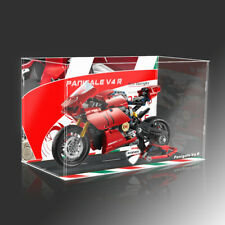 UV printed Acrylic Display case for LEGO 42107 Ducati motorcycle