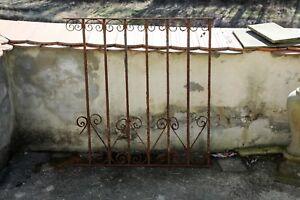 Schmiedeeisenes Zaunelement Deko Gartensaison Antik