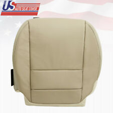 2007 up till 2012 Acura MDX Driver Lower Genuine Leather Seat Cover in shade TAN