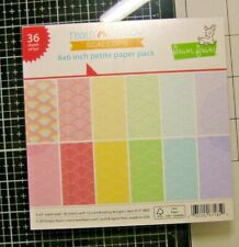 Lawn Fawn 6x6 inch Petite Paper Pack Really Rainbow