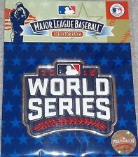 2016 World Series Jersey Patch Chicago Cubs Cleveland Indians Official