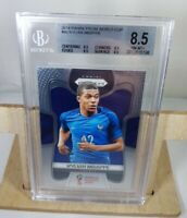 2018 KYLIAN MBAPPE Panini Prizm Soccer World Cup #80 Rookie Card BGS 8.5 PSA 9