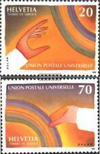 Schweiz UPU17-UPU18 (kompl.Ausg.) postfrisch 1999 125 Jahre Weltpostverein