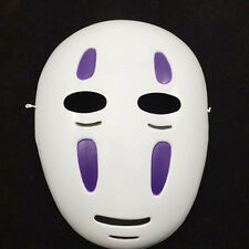 Spirited Away Faceless Male Mask Black/Purple Cosplay Props Animation Festival