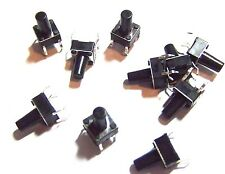 10pcs 6x6x10mm with 7mm Push Button Momentary Switch SPST Miniature micro PCB