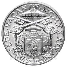 1939 * 5 lire argento Vaticano Sede Vacante