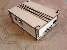Caja Carcasa para Raspberry Pi B en madera Abedul.Cajita box case enclosure wood