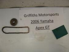06 2006 07 08 YAMAHA APEX GT vector? nytro? starter gear chain drive elec start