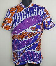 Vtg Cycling Rombo Retro Jersey Top Shirt Vintage Trikot Maillot Maglia XL