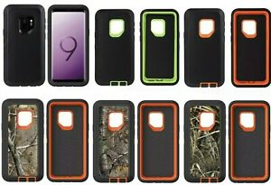 Heavy Duty Rugged Shockproof Protective Hard Case For Samsung Galaxy S9 S9+ Plus
