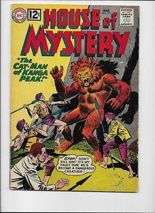 DC Comics - HOUSE OF MYSTERY  #120 March 1962 Cat-Man Moolah